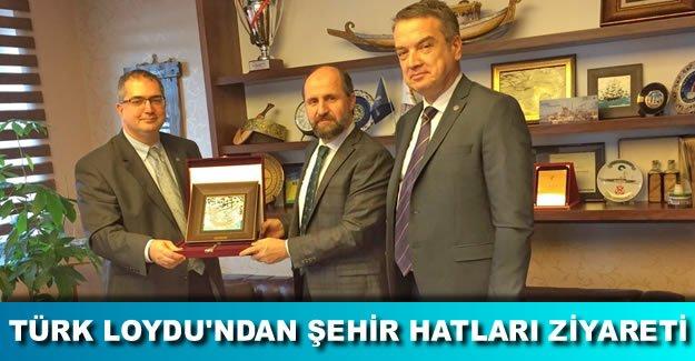 Türk Loydu Başkanı, Şehir Hatları'nı ziyaret etti