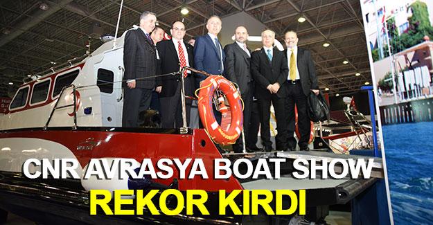 CNR Avrasya Boat Show bu yıl rekor kırdı