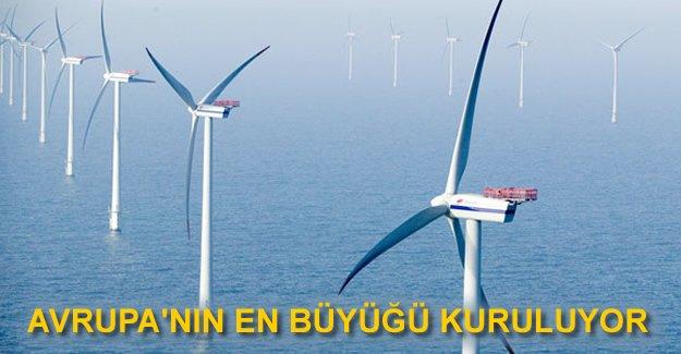 Avrupa'nın en büyük rüzgar santrali Norveç'e kuruluyor