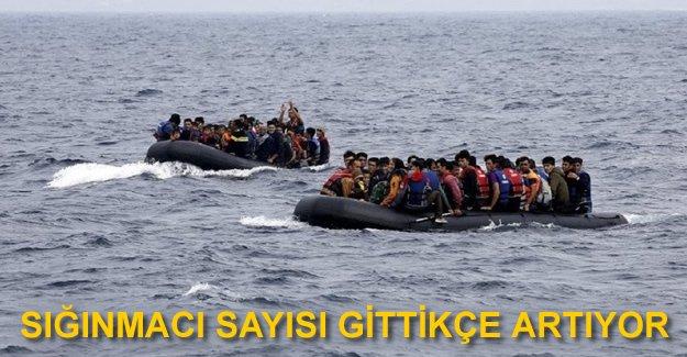 110 bin sığınmacı deniz yoluyla Avrupa'da