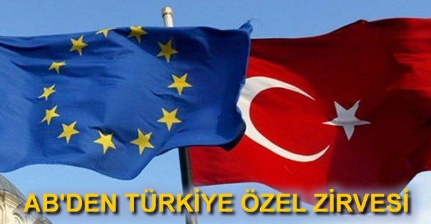 AB-Türkiye özel zirvesi 7 Mart'ta yapılacak