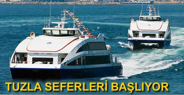 İDO Tuzla'yı deniz otobüsüyle Yalova 'ya bağlıyor