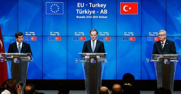 Türkiye-Avrupa Birliği anlaşması dünyada büyük ses getirdi