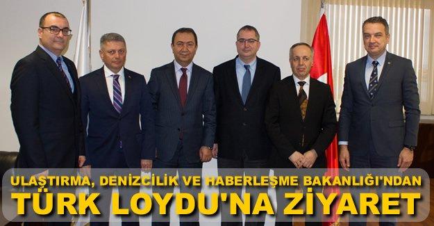 Suat Hayri Aka'dan Türk Loydu'na ziyaret