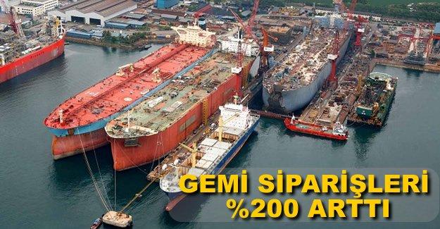 Japonya'ya verilen gemi siparişleri şubat ayında arttı