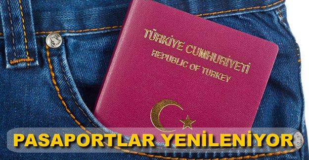 Schengen uyumlu yeni pasaportlar yolda