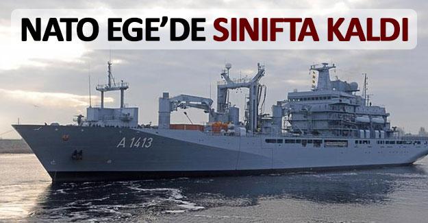 NATO Ege Denizi'nde sınıfta kaldı!