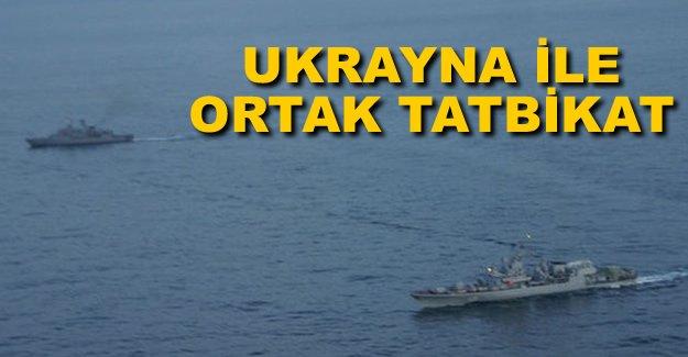 Ukrayna Deniz Kuvvetleri'yle ortak tatbikat