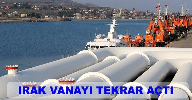 Kerkük-Ceyhan hattında petrol akışı normale döndü