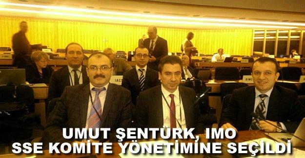 IMO Alt Komitesi SSE'nin Başkan Yardımcılığı'na Umut Şentürk seçildi