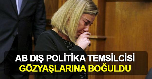 AB Dış Politika Temsilcisi Mogherini Brüksel için ağladı