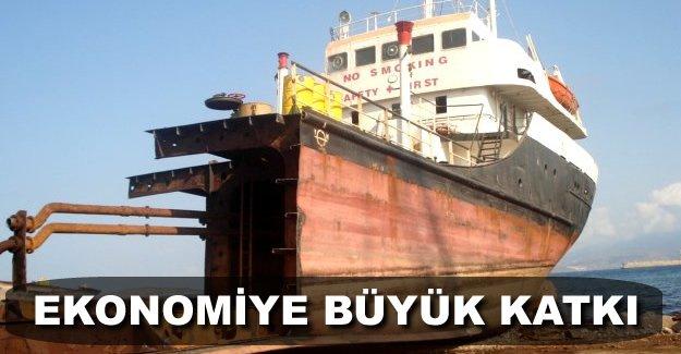 Gemi geri dönüşümden ekonomiye büyük katkı