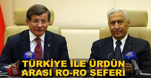 Türkiye ile Ürdün Ro-Ro ile birbirine bağlanacak