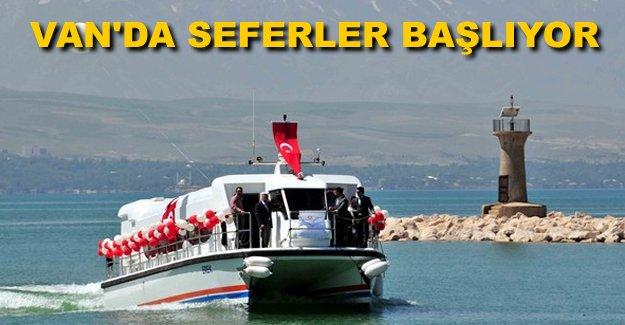 Van'da Deniz Otobüsleri seferleri 16 Nisan'da başlıyor