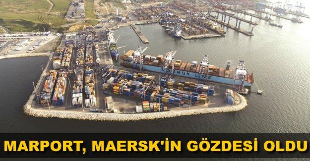 Maersk'ün Ambarlı'daki tek uğrağı Marport