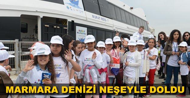 23 Nisan'da Marmara denizi neşeyle doldu