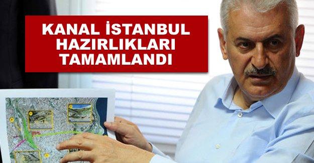 Binali Yıldırım: Kanal İstanbul Projesiyle ilgili hazırlıklar bitti