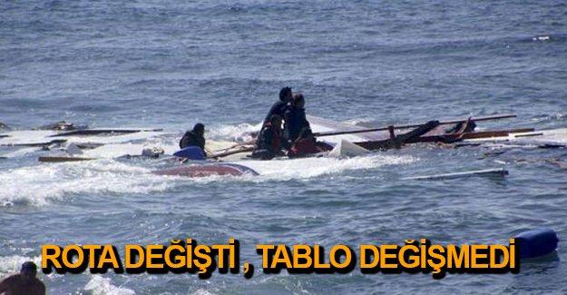 Akdeniz'de göçmen faciası: 84 kişi kayıp