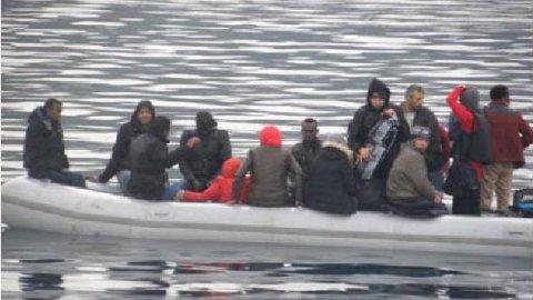 29 göçmeni Sahil Güvenlik kurtardı
