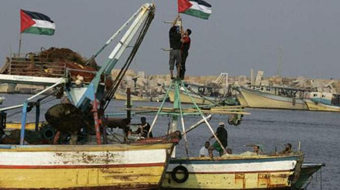 İsrail, Filistinli balıkçıları gözaltına aldı