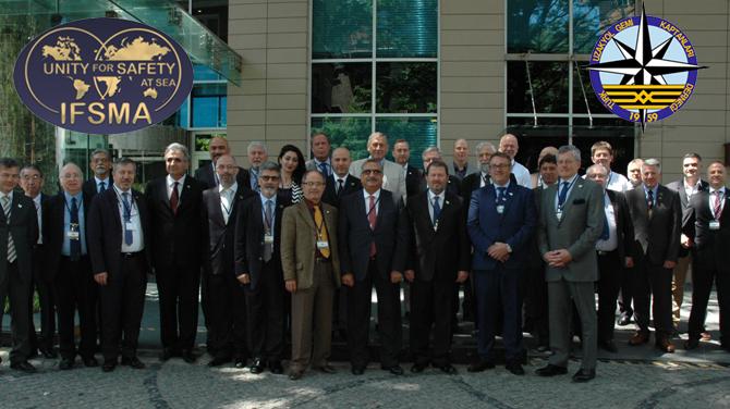 IFSMA 42. Genel Kurulu Toplantısı İstanbul'da yapıldı