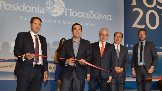 Posidonia 2016 Fuarı kapılarını açtı