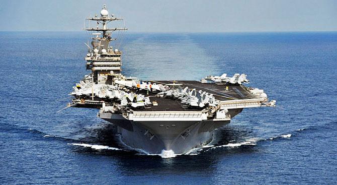 ABD Harry Truman uçak gemisini Akdeniz'e gönderiyor