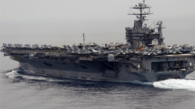 Rusya, Amerikan uçak gemilerinden rahatsız