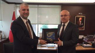 Türk Loydu, Savunma Sanayi Müsteşarlığı'nı ziyaret etti