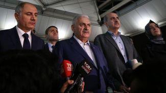 Başbakan Yıldırım'dan Atatürk Havalimanı saldırısı ile ilgili açıklama