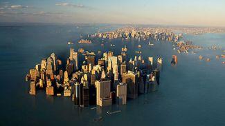 Araştırmalar ürkücücü, deniz seviyesi 20 santim yükseldi