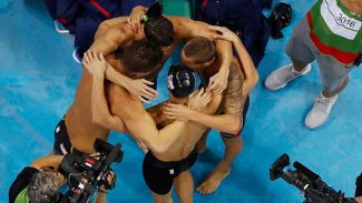 ABD Rio Olimpiyatları'nda zirveye çıktı