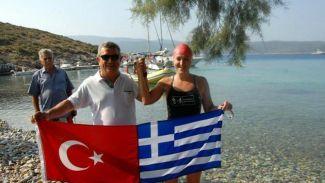 Yüzücü Seda Kansuk Bodrum'dan Kos'a yüzecek