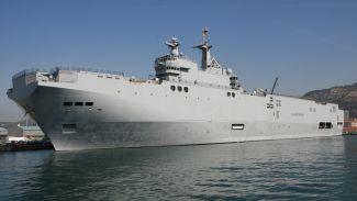 Fransa'dan Mısır'a ikinci helikopter gemisi