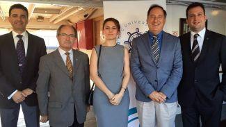 İTÜ-GİMDER, Koç Üniversitesi Denizcilik Forumu'ndaydı