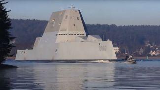 ABD'nin hayalet destroyeri Zumwalt göreve başlıyor