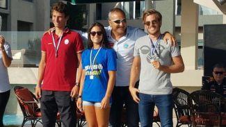Türkiye Şampiyonu olan Dilara, Fransa'ya yelken açtı