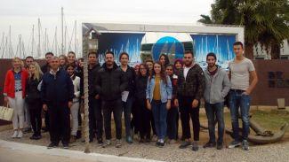 DEÜ öğrencileri Teos Marina'yı ziyaret etti