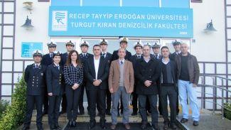 RTEÜ Denizcilik Fakültesi Er Denizcilik'i ağırladı