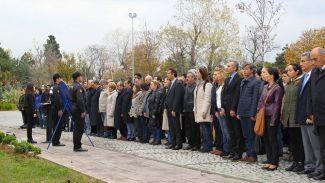 Yıldız Teknik Üniversitesi'nde Atatürk saygıyla anıldı