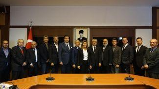 TYF'de ilk yönetim kurulu toplantısı yapıldı