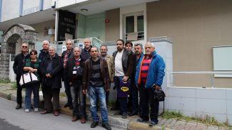 FETÖ mağduru Vera Denizcilik çalışanları basın açıklaması yaptı