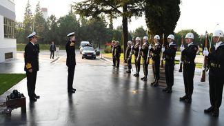 NATO Deniz Komutanı'ndan DZKK'ya ziyaret