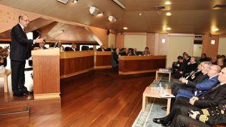 DTO meclisinde İstanbul Tahkim Merkezi sunumu