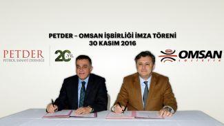 PETDER - OMSAN işbirliğini 5 yıl daha uzattı