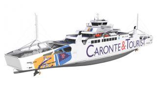 LMG Marin'den Akdeniz için ilk LNG yakıtlı feribot tasarımı