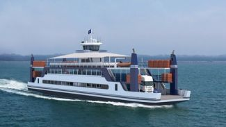 RoPax ferry takes shape at Niron Staal