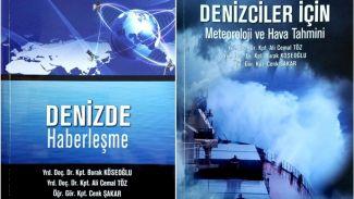 Dokuz Eylül kaptan hocalarının kitapları yayınlandı