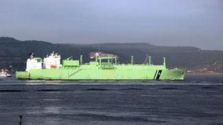 LNG tankeri Çanakkale Boğazı'nı kapattı
