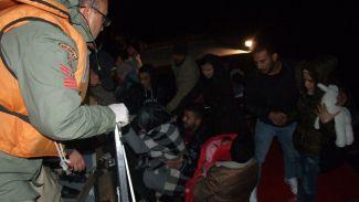 Manavgat'da düzensiz göçmen operasyonu yapıldı
